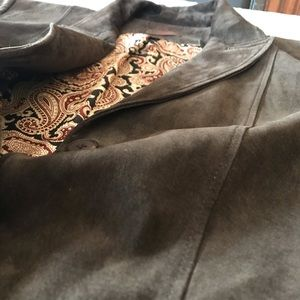 Danier Suede Leather Jacket